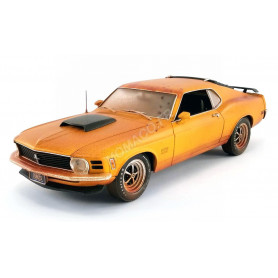 "FORD MUSTANG BOSS 429 1970 AVEC REMORQUE ""BARN FIND BOSS"""
