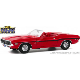 """DODGE CHALLENGER R/T CONVERTIBLE 1970 """"THE MOD SQUAD (1968-1973)"""" ROUGE"""