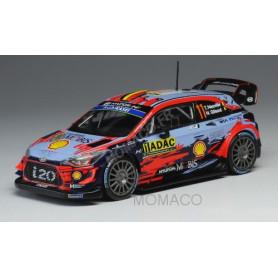 HYUNDAI I20 WRC 11 NEUVILLE/GILSOUL RALLYE D'ALLEMAGNE 2019