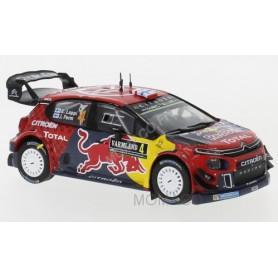 CITROEN C3 WRC 4 LAPPI/FERM RALLYE DE FINLANDE 2019