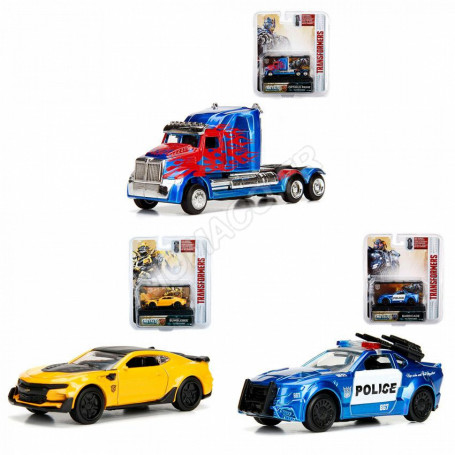 """SET 3 VOITURES """"TRANSFORMERS"""" (EPUISE)"""