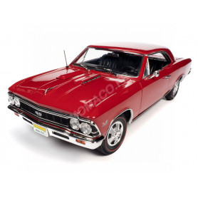 "CHEVROLET CHEVELLE SS 396 ""HEMMINGS"" 1966 ROUGE"