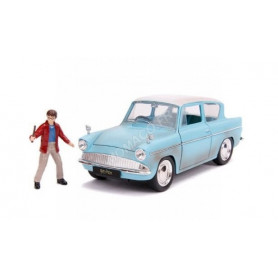 "FORD ANGLIA 1959 ""HARRY POTTER"" AVEC FIGURINE HARRY POTTER"
