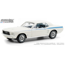FORD MUSTANG GT COUPE 1967 BLANC (EPUISE)