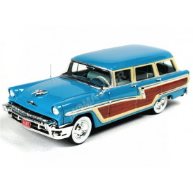 MERCURY MONTEREY STATION WAGON 1956 BLEUE