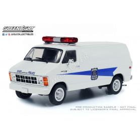 "DODGE RAM B250 VAN ""INDIANA STATE POLICE"" 1980"