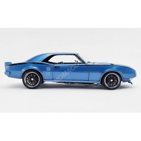 PONTIAC FIREBIRD STREET FIGHTER 1968 BLEU