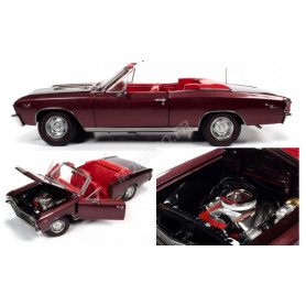 CHEVROLET CHEVELLE SS 396 CONVERTIBLE 1967 MARRON