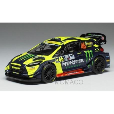 "FORD FIESTA RS WRC 46 ROSSI/CASSINA ""MONSTER"" RALLYE MONZA 2018"