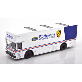 "MERCEDES-BENZ O317 TRANSPORTEUR COMPETITION ""ROTHMANS PORSCHE"" 1982 BLANC"