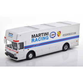 "MERCEDES-BENZ O317 TRANSPORTEUR COMPETITION ""PORSCHE - MARTINI RACING"" 1971 ARGENT"