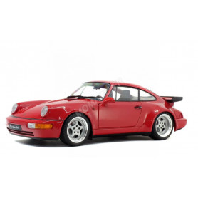 PORSCHE 964 TURBO 3.6 1990 ROUGE