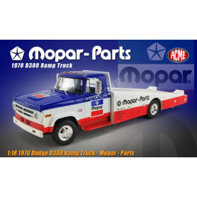 "DODGE D300 CAMION PLATEAU 1970 ""MOPAR PARTS"""