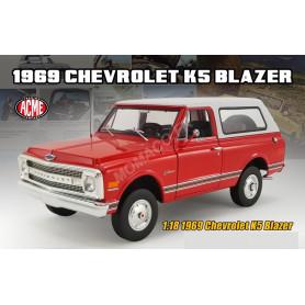 CHEVROLET K5 BLAZER 1969 ROUGE/BLANC