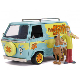 "THE MYSTERY MACHINE ""HANNA BARBERA - SCOOBY-DOO"" AVEC FIGURINES DE SAMMY ET SCOOBY-DOO"