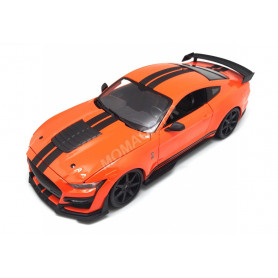 FORD MUSTANG SHELBY GT500 ORANGE / NOIRE