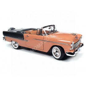 CHEVROLET BEL AIR CONVERTIBLE 1955 CORAIL/GRIS