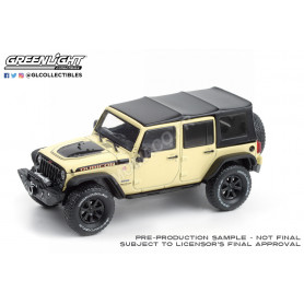 "JEEP WRANGLER UNLIMITED ""RUBICON RECON - GOBI"" 2018 CREME"