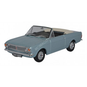 FORD CORTINA MKII CRAYFORD CONVERTIBLE BLEUE