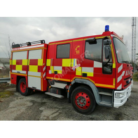 """IVECO EUROCARGO FPT SIDES """"26 DROME - ANNEYRON"""""""