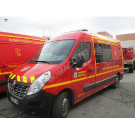 "RENAULT MASTER 2014 VICT (VEHICULE D'INTERVENTION CYNOTECHNIQUE) ""13 - BMPM"" - EXCLUSIVITE MOMACO"