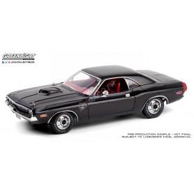 DODGE CHALLENGER R/T 440 1970 NOIRE/ROUGE INTERIEUR (EPUISE)