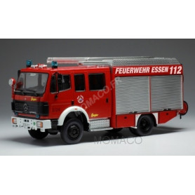 MERCEDES-BENZ LF 16/12 POMPIERS ESSEN 1995 ROUGE