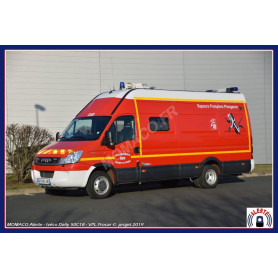 "IVECO DAILY 2006 VPL SDIS ""36 - INDRE - CHATEAUROUX"""