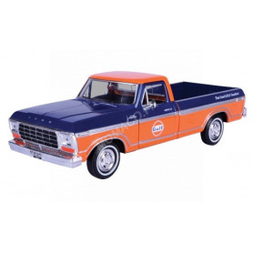 "FORD F-150 CUSTOM PICK UP ""GULF"" BLEU/ORANGE"