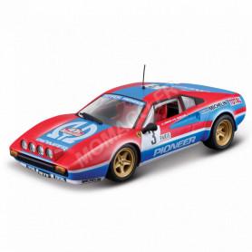 FERRARI 308 GTB PIONEER 3 J.C.ANDRUET/BICHE RALLYE MONTE-CARLO 1982 VERSION NUIT