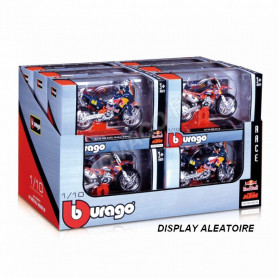 "DISPLAY DE 12 PIECES : MOTOCROSS ""KTM-REDBULL"""