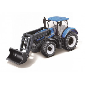 NEW HOLLAND T7.315 AVEC CHARGEUSE - TRACTEUR A FRICTION