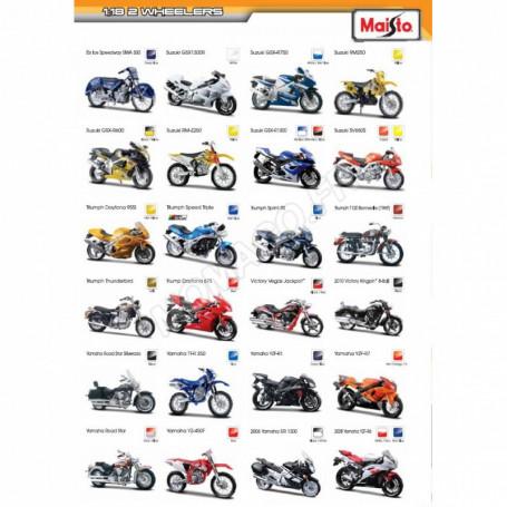 """DISPLAY DE 24 PIECES : MOTOS """"WHEELER"""""""