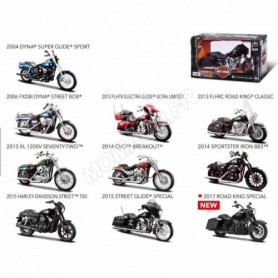 "DISPLAY DE 12 PIECES : MOTOS ""HARLEY DAVIDSON"""
