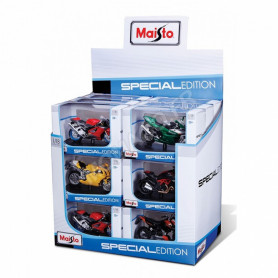 "DISPLAY DE 18 PIECES : MOTOS ""SPECIAL EDITION"""