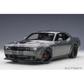 DODGE CHALLENGER SRT HELLCAT WIDEBODY 2018 GRIS BANDES ANTHRACITES