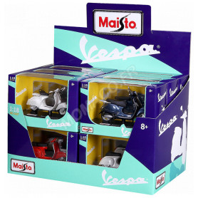"DISPLAY DE 24 PIECES : MOTOS ""VESPA"""