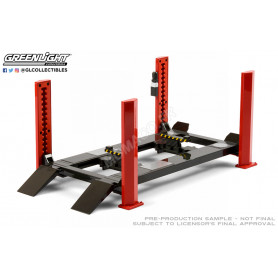 PONTS ELEVATEURS 4 PIEDS ROUGE/ANTHRACITE
