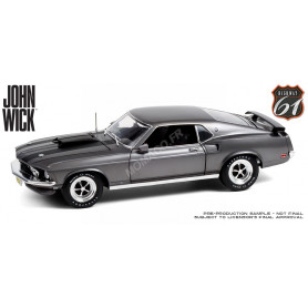 "FORD MUSTANG BOSS 429 1969 ""JOHN WICK (2014)"" - VERSION CHROME"