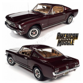 FORD MUSTANG 2 + 2 1965 BORDEAUX