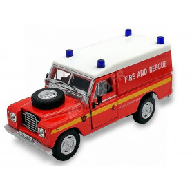 LAND ROVER SERIES III 109 FIRE AND RESCUE
