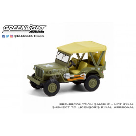 """JEEP WILLYS MB 1940 """"80EME ANNIVERSAIRE - 2nd GUERRE MONDIALE"""" (EPUISE)"""