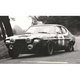 FORD CAPRI 10 ROHRL/BERGER RALLYE DE POLOGNE 1972