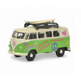 """VOLKSWAGEN T1 BUS """"HAPPY SUMMER HOLIDAY"""" (EPUISE)"""