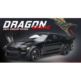FORD MUSTANG SHELBY GT 500 2021 DRAGON SNAKE CONCEPT NOIRE