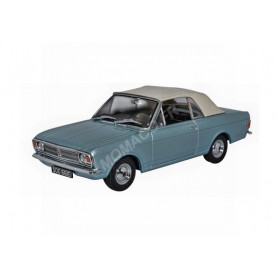 FORD CORTINA MKII CRAYFORD SOFT TOP BLEUE