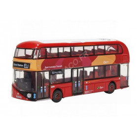 NEW ROUTEMASTER EAST LONDON TRANSIT