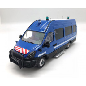 IVECO DAILY DURISOTTI FOURGON INTERVENTION BLEUE