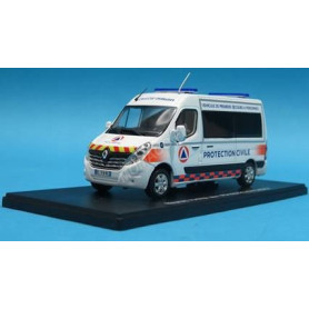 RENAULT MASTER 2014 VPSP PROTECTION CIVILE 21