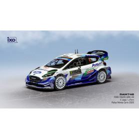 FORD FIESTA WRC 4 LAPPI/FERN RALLYE MONTE CARLO 2020 9EME